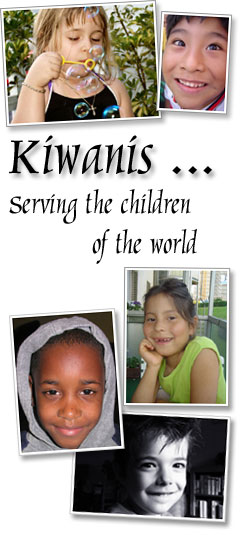 Kilds love Kiwanis